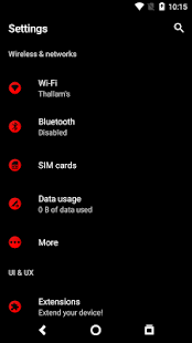 Death Red for Substratum - náhled