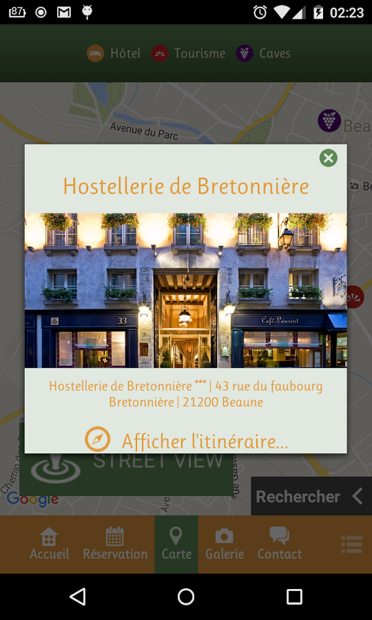 Hostellerie de Bretonnière- screenshot