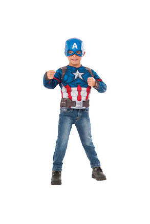 Barndräkt, captain america