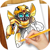 Learn to Draw Transformers
