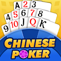 Chinese Poker - Multiplayer Pusoy, Capsa Susun icon