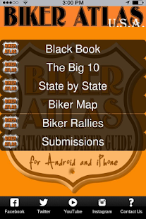 BIKER ATLAS USA- screenshot thumbnail