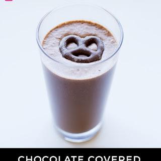 Chocolate Covered Pretzel Protein Shake.