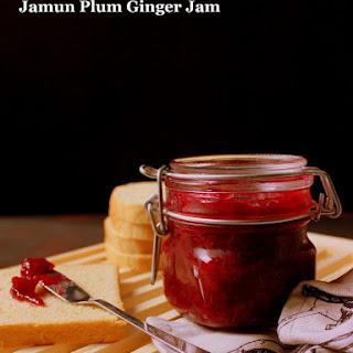 Jamun Plum Ginger Jam.