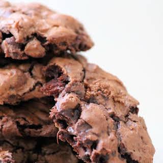 Flourless Fudgy Chocolate Cookies.