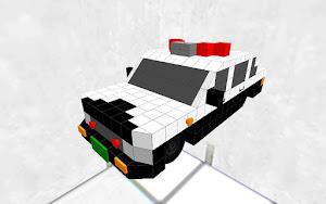 (元祖)警察車両 Police car