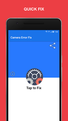 Camera Error Fix - Quick fix 10.1 screenshots 2