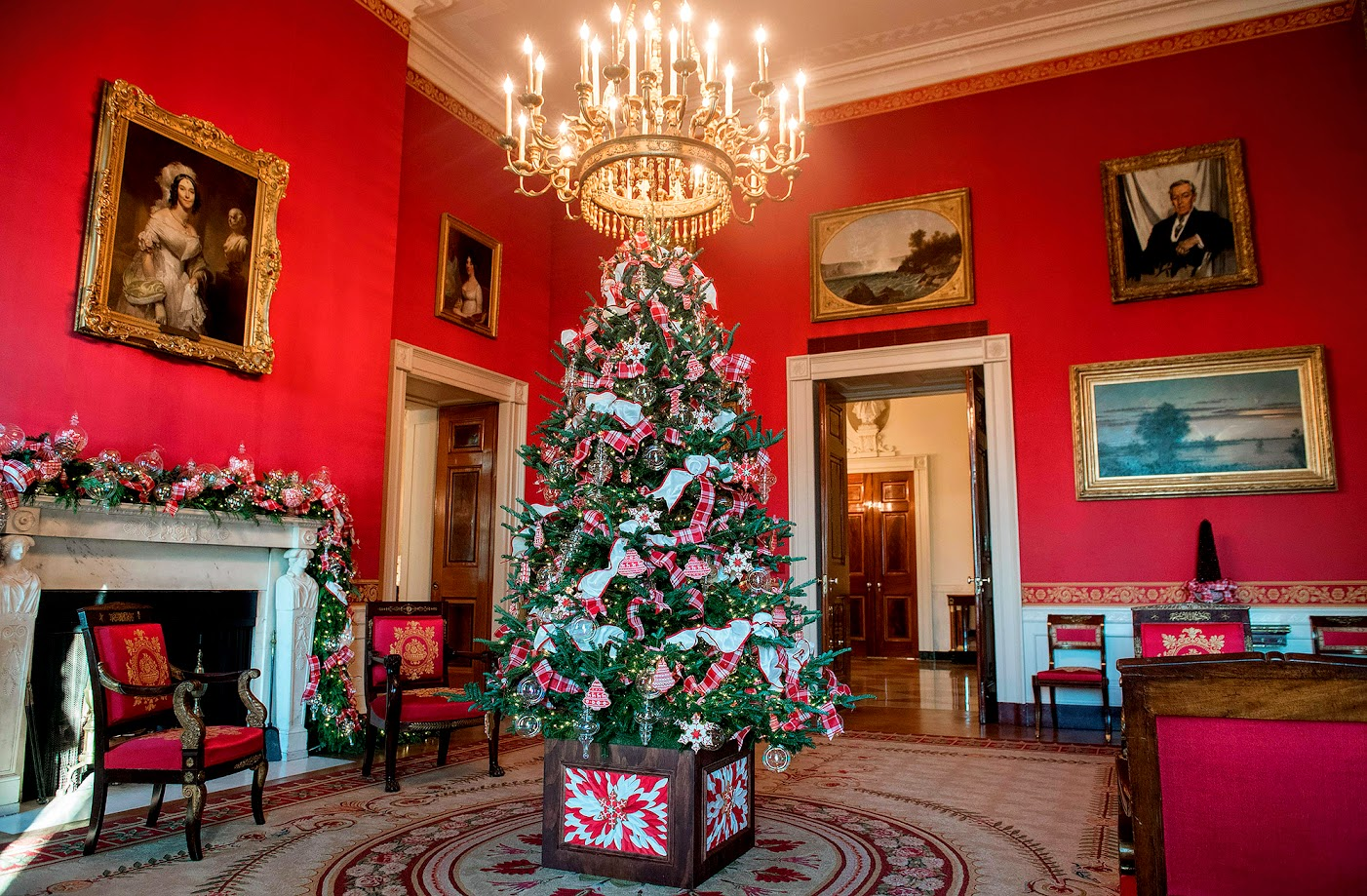 Cote De Texas The First White House Christmas For The New