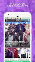 screenshot of ARMY Amino para BTS en Español