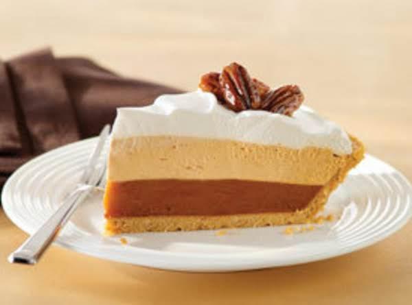 *jell-o Triple Layer Pumpkin Pie!* Recipe