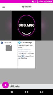 888 radio - náhled