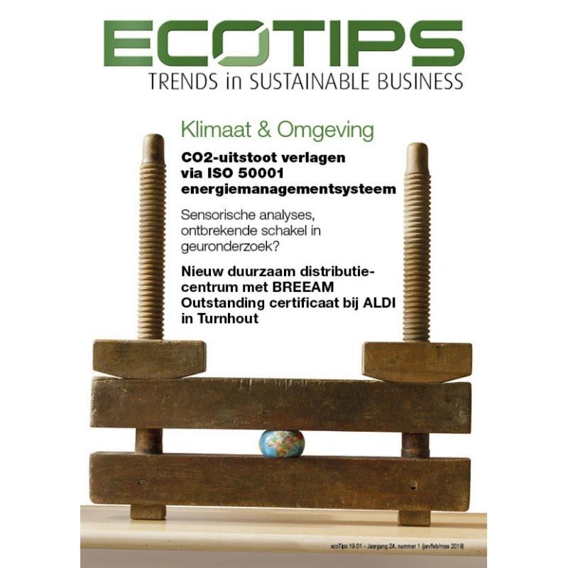 MAGAZINE - ecoTips maart 2019 over Klimaat & Omgeving