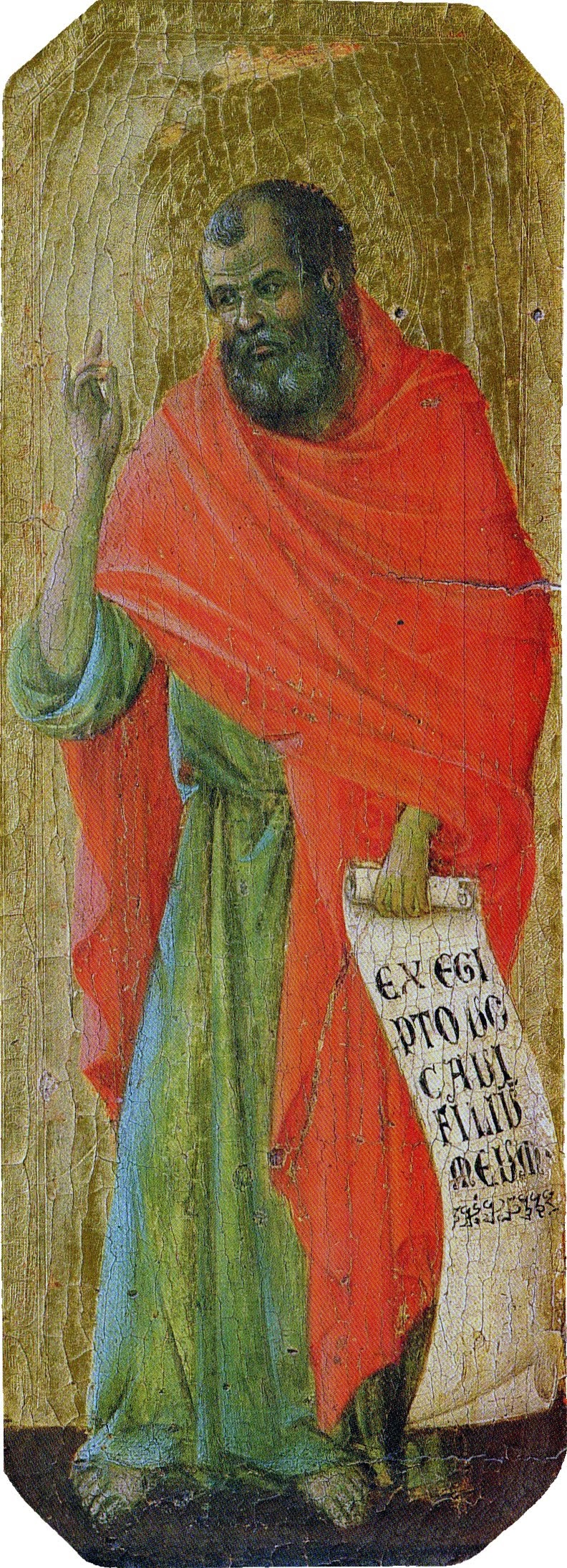 Duccio di Buoninsegna, Predella della Maestà, Osea