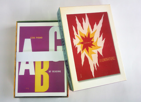 cover image for Alvin Lustig for New Directions: 50 Postcards