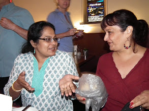 Photo: Sudha and Debbie