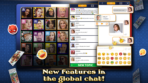 VIP Tarot - Free French Tarot Online Card Game 3.6.17 screenshots 4