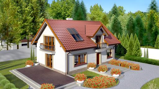 projekt Dom przy Alabastrowej 19