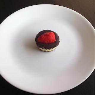 Twice-Baked Jumbo Mini Cheesecakes
