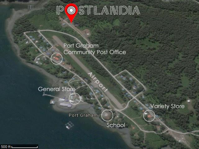 Port Graham, AK annotated map