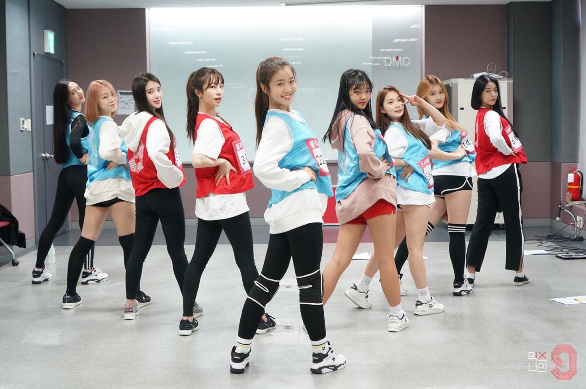mixnine girls