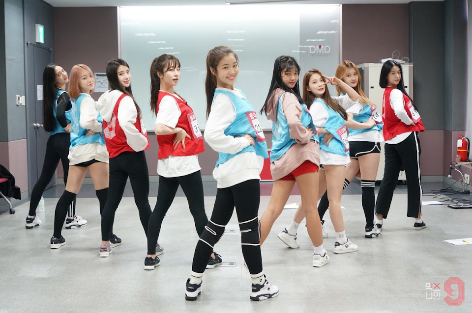 mixnine girls