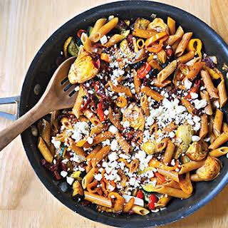 Skinny Mediterranean Pasta Toss.