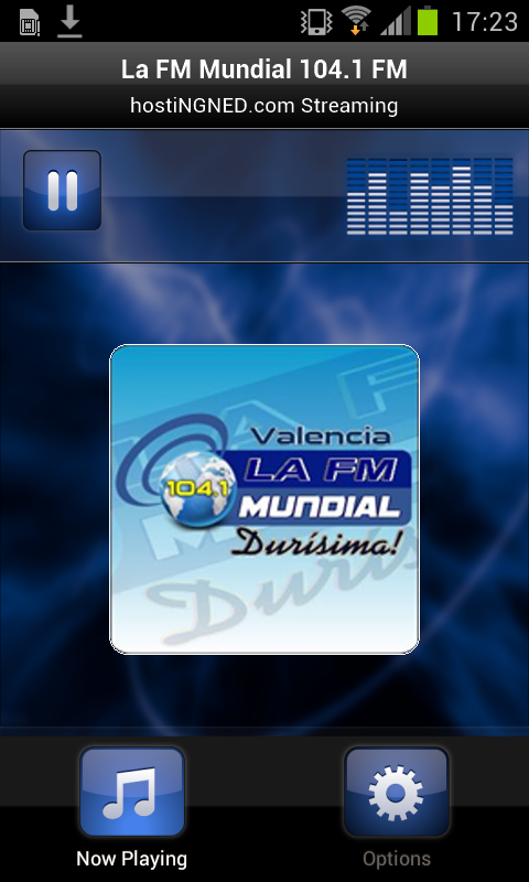 La FM Mundial 104.1 FM- screenshot