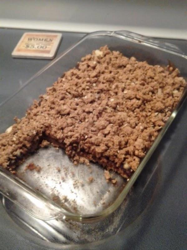 Oaty Apple Almond Bars Recipe