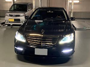 Sクラス W221 AMGスポーツエディション モカブラックのカスタム事例画像 たちせ Club Zeroさんの2019年06月04日12:03の投稿
