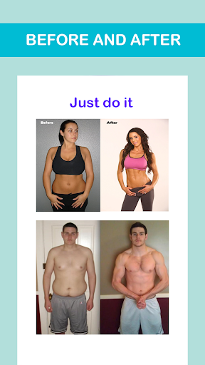 Lose Weight in 30 Days - Home Workout and Fitness screenshot 1