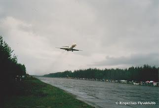 Photo: Eggemoen Flyshow 1988 arrangert av RFK. DC-9 SAS