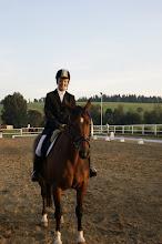 Photo: III m-ce    Katarzyna Bryniczka na koniu JAMAJKA