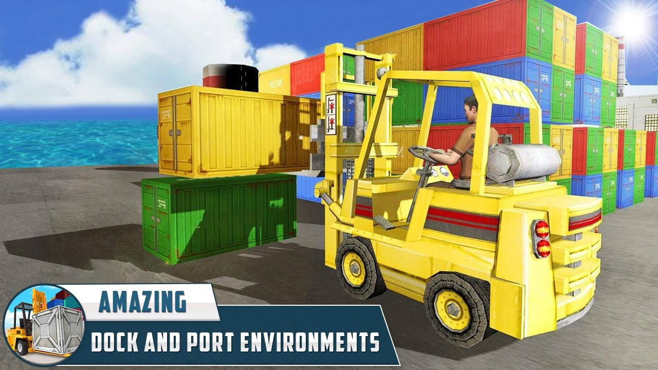 City Cargo Heavy Forklift Simulator 2017- screenshot