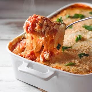 Cheesy Italian Spaghetti Squash Bake Recipe