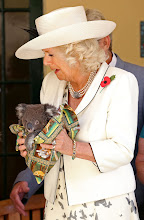 Photo: The Duchess of Cornwall holds a Koala at Government House in, Adelaide, Australia. PRESS ASSOCIATION Photo. Picture date Wednesday November 7, 2012. See PA Story ROYAL Jubilee. Photo credit should read Chris Radburn/PA