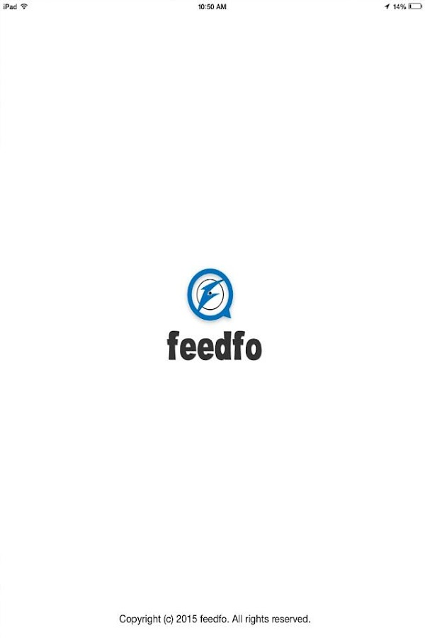 Feedfo- screenshot