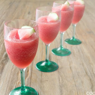 Watermelon Wine Slush.
