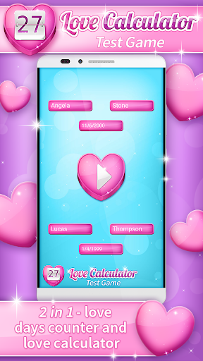 Love calculator Calculate love percentage