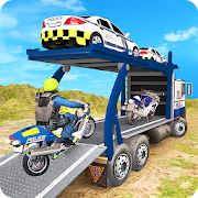 Game US Police Cargo Truck Transport Game APK for Windows Phone