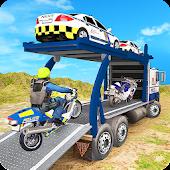 Tải dốc cảnh sát vận chuyển xe tải điều khiển miễn phí