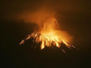 Photo: The Tungurahua volcano explodes in Ecuador's Tungurahua province, early Thursday, Jan. 10, 2008. (AP Photo/Dolores Ochoa)