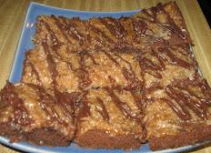 "Samoa Brownies For 9"" x 13"""