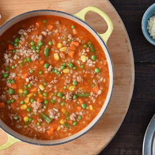 QUICK and HEARTY TURKEY BARLEY SOUP Recipe