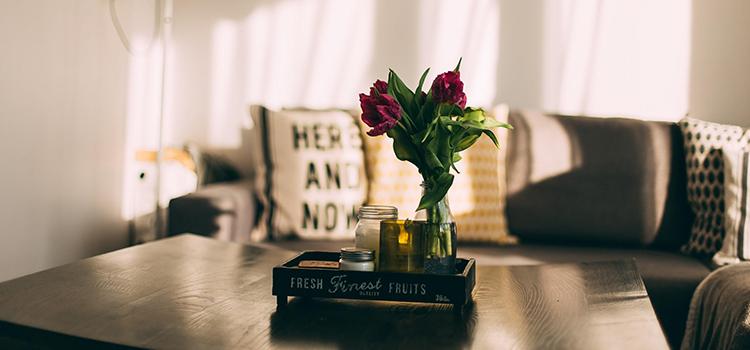 Rose Coffee Table Lounge Room