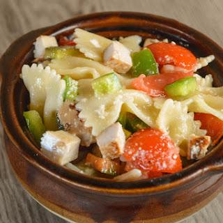 Chicken Bow-Tie Pasta Salad.