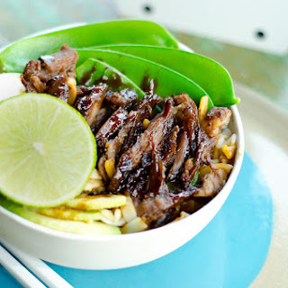 Asian Style Sticky Lamb