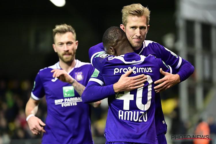 Anderlecht à nouveau privé d'un élément offensif à Ostende?