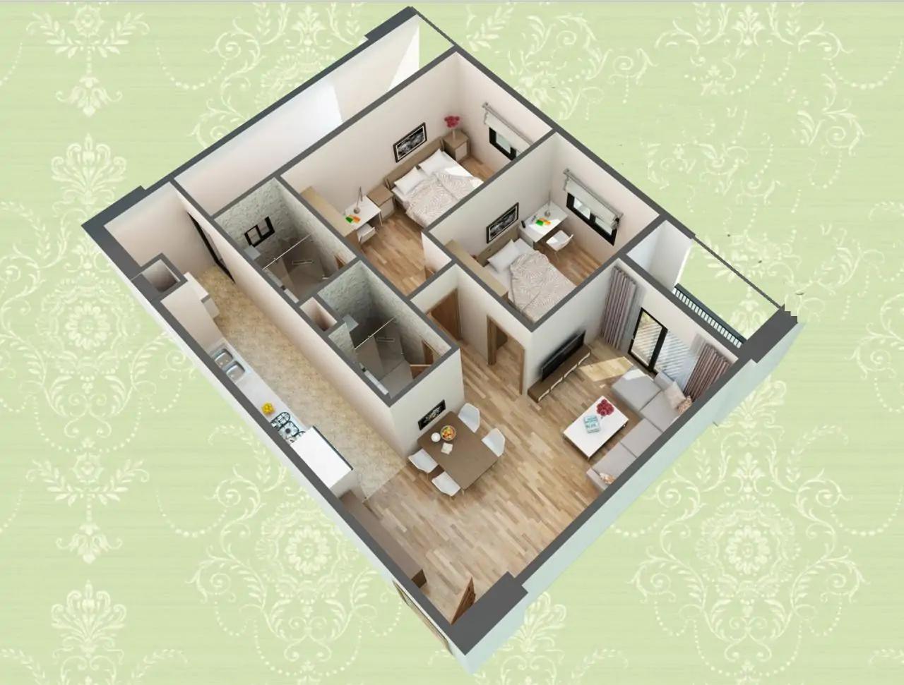 Có nhiều loại hình căn hộ cho quý khách hàng lựa chọn