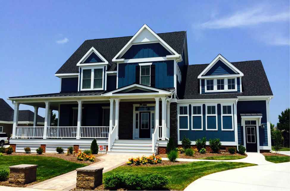 9 Exterior House Trim Color Combinations & Design Ideas