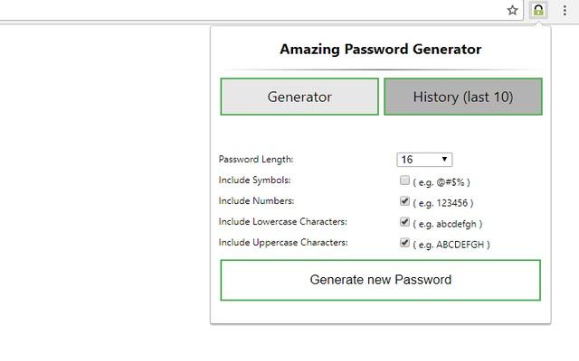 Amazing password generator